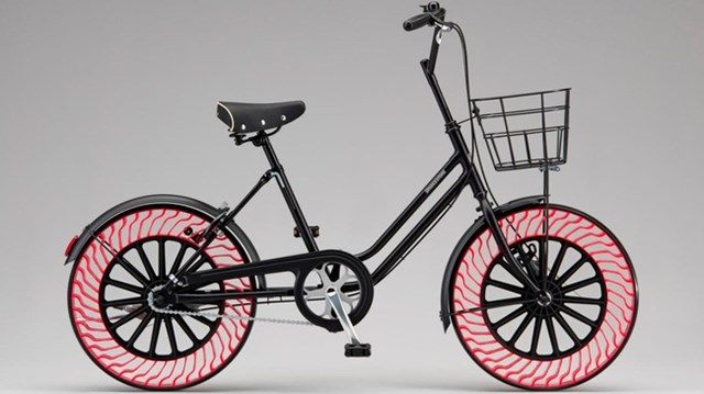 Bridgestone phát triển lốp không hơi cho xe đạp