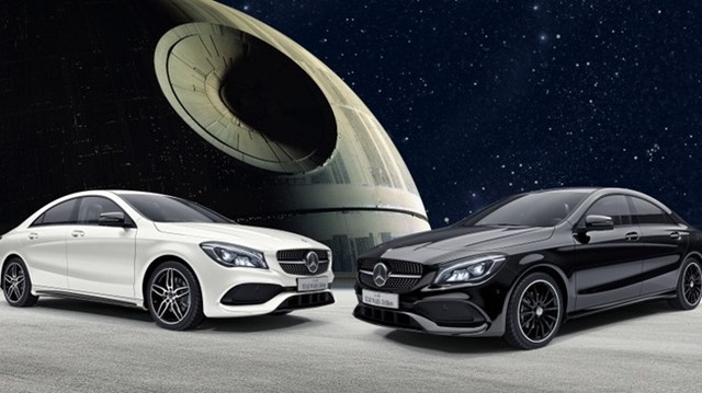 "Mercedes-Benz ra mắt CLA đặc biệt cho fan cuồng ""Star Wars"""