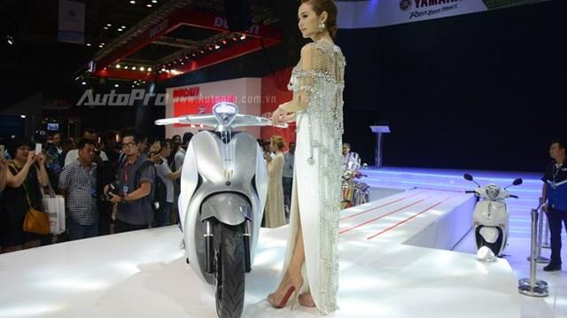 """Yamaha đem dàn xe """"khủng"""" đến triển lãm VMCS 2017, điểm nhấn là mẫu concept Glorious"""