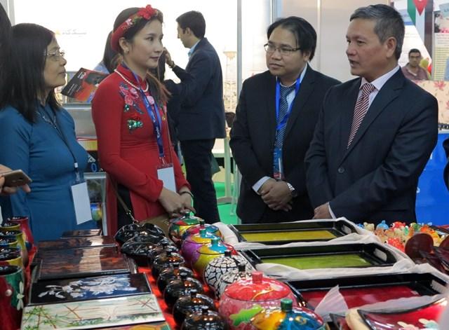 Doanh nghiệp Việt Nam tham dự Hội chợ quốc tế Alger lần thứ 50