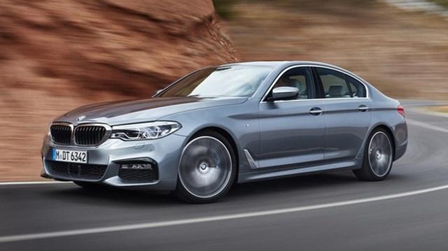 BMW 5-Series 2017 là một trong những mẫu xe an toàn nhất hiện nay