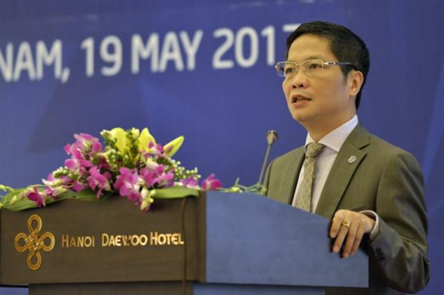 Bộ trưởng Trần Tuấn Anh phát biểu khai mạc Hội nghị APEC về thương mại và sáng tạo