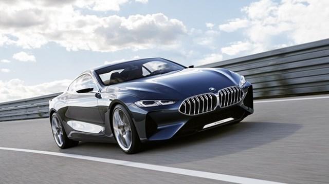 """""""Xe trong mơ"""" BMW 8-Series chính thức được vén màn"""