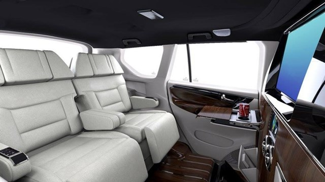 Làm quen với Toyota Innova 2017 mang nội thất như chuyên cơ