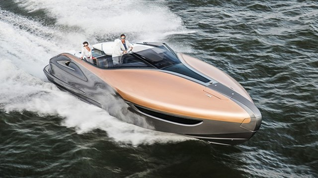 Lexus giới thiệu du thuyền làm từ sợi carbon như siêu xe LFA