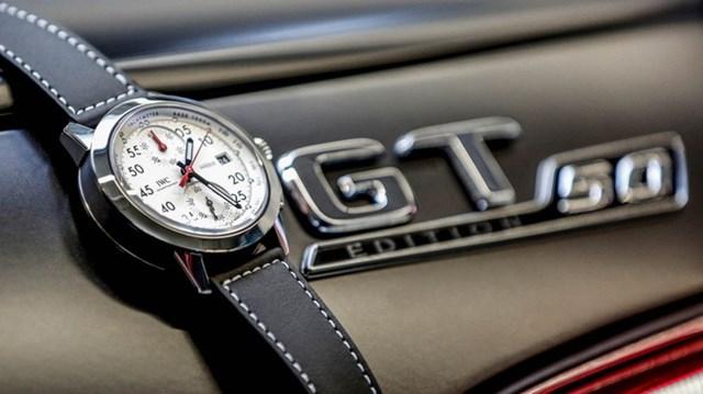 IWC cho ra mắt đồng hồ giới hạn kỷ niệm 50 năm thành lập của AMG