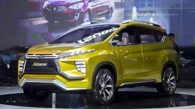 Mitsubishi XM Concept - Mẫu xe ý tưởng độc nhất VMS 2017