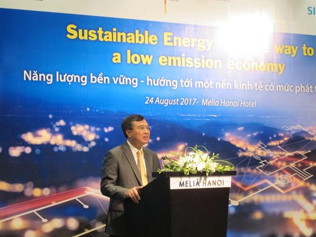 Năng lượng bền vững – hướng tới một nền kinh tế có mức phát thải thấp