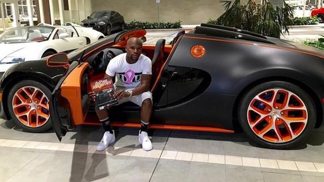 Bugatti Veyron Grand Sport Vitesse của Floyd Mayweather tìm thấy chủ nhân mới