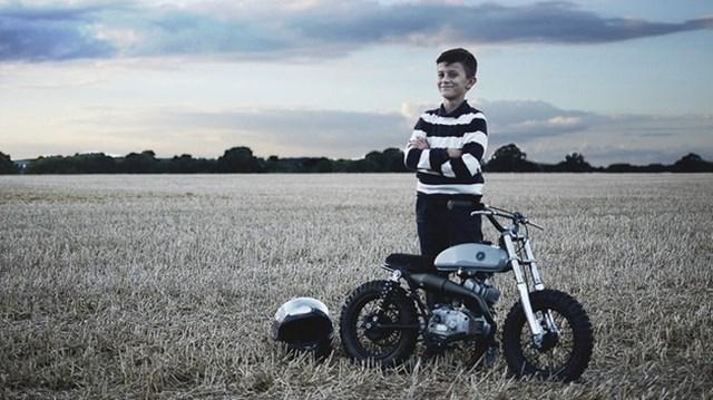 """Đây là chiếc mini bike """"chất"""" nhất bạn từng thấy"""
