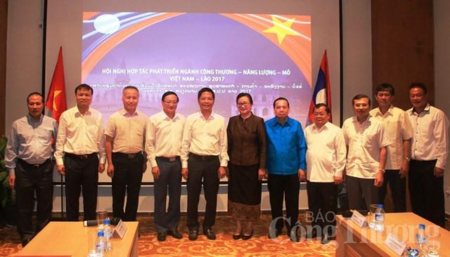 Hội nghị Hợp tác phát triển ngành Công Thương, Năng lượng - Mỏ Việt Nam – Lào 2017