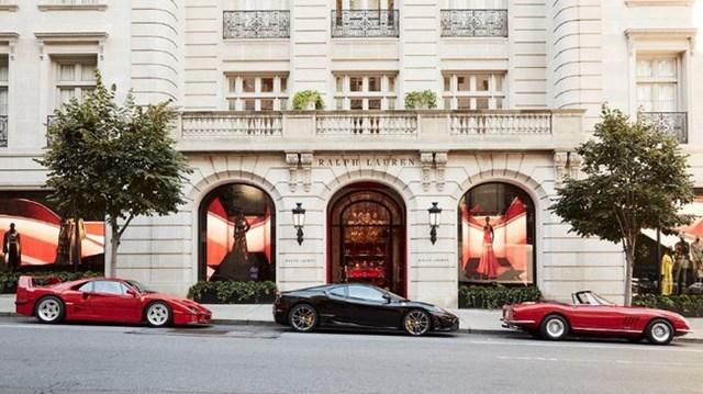Ralph Lauren trưng bày bộ 3 siêu xe Ferrari hàng hiếm tại kinh đô thời trang của TG
