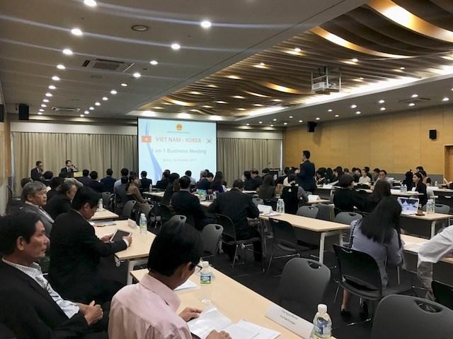 Hội nghị giao thương kết nối cung - cầu Việt Nam - Hàn Quốc
