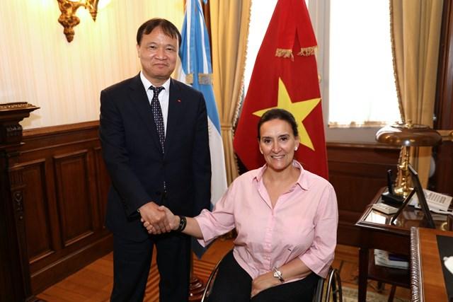 Những hoạt động trong chuyến công tác tại Argentina của Thứ trưởng Đỗ Thắng Hải