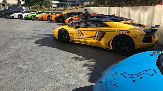 """20 siêu xe """"khủng"""" tham dự hành trình siêu xe của người Việt trên đất Mỹ"""