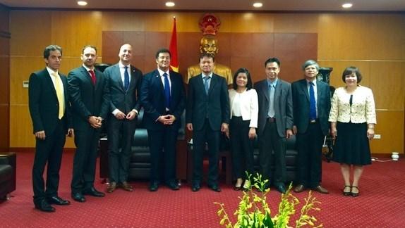 Thứ trưởng Đỗ Thắng Hải tiếp Phó Chủ tịch Tập đoàn Shell, Hà Lan