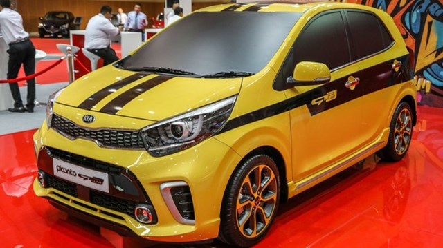 Kia Morning GT Line 2018 sẽ được bán tại Đông Nam Á vào đầu năm sau