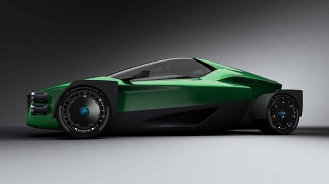 Siêu xe điện 1.341 mã lực thách thức Tesla Roadster