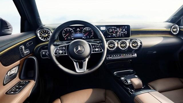 Nội thất Mercedes-Benz A-Class mới tái hiện thiết kế của xe sang S-Class