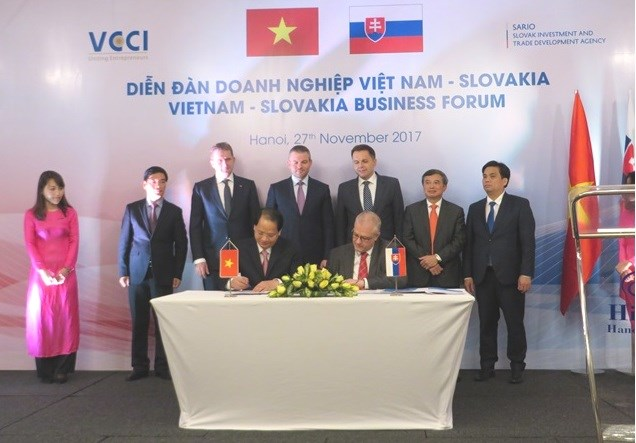 Diễn đàn doanh nghiệp Việt Nam - Slovakia