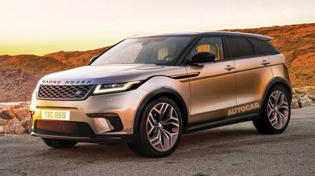 Range Rover Evoque 2019 dần lộ diện với ảnh hưởng từ Velar