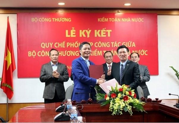 Bộ Công Thương và Kiểm toán Nhà nước ký kết Quy chế phối hợp công tác