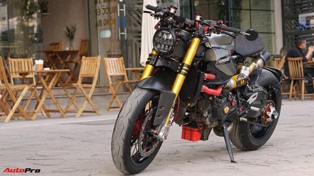 Khám phá Ducati Panigale 1199 S độ Cafe Racer độc nhất Việt Nam