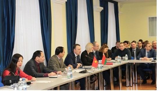 Hội thảo thúc đẩy quan hệ đầu tư - thương mại giữa Việt Nam và Belarus