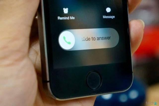 Cách từ chối cuộc gọi đến khi máy đang bị khoá trên iPhone
