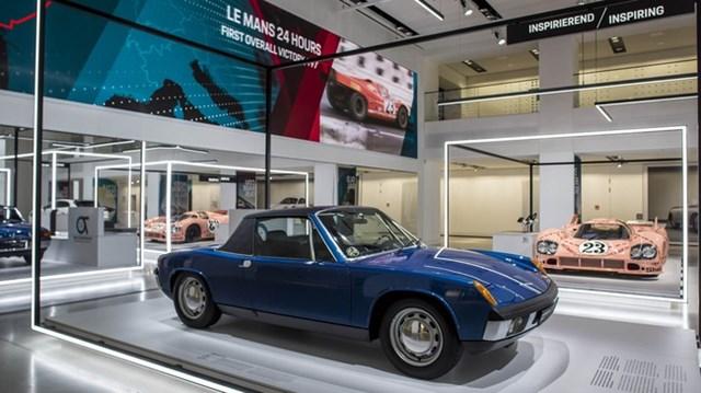 Porsche kỷ niệm 70 năm sinh nhật xe thể thao với triển lãm độc đáo