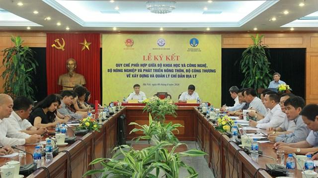 Bộ Công Thương phối hợp xây dựng và quản lý Chỉ dẫn địa lý cho hàng hóa Việt Nam