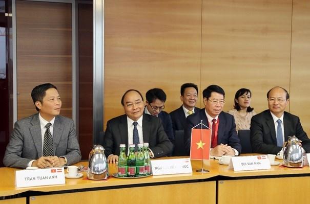 Bộ trưởng Trần Tuấn Anh tháp tùng Thủ tướng Nguyễn Xuân Phúc thăm và làm việc tại Áo