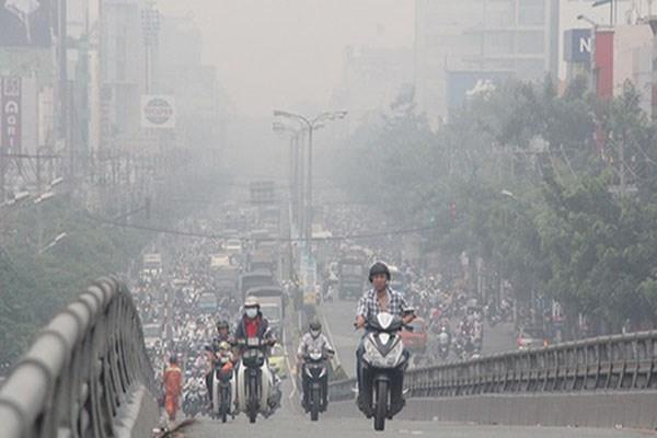 Ô nhiễm không khí tại Hà Nội, TP. HCM đang gia tăng