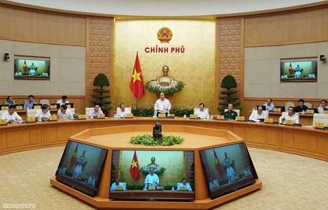 Nghị quyết 59/NQ-CP 2019 về phiên họp Chính phủ thường kỳ tháng 7 năm 2019