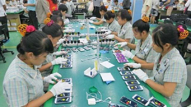 Kim ngạch xuất khẩu điện thoại các loại và linh kiện sang Mexico tăng đột biến