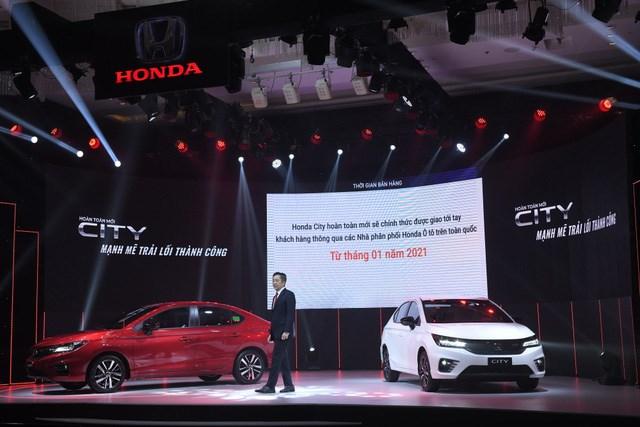 Honda City thế hệ mới giao xe từ 1/2021, không kịp hưởng ưu đãi phí trước bạ