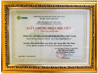 Sở Giao dịch Hàng hóa Việt Nam chính thức trở thành Thành viên Hiệp hội Xăng dầu VN