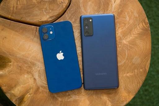 Apple lần đầu tiên vượt qua Samsung trên thị trường smartphone trong quý 4/2020