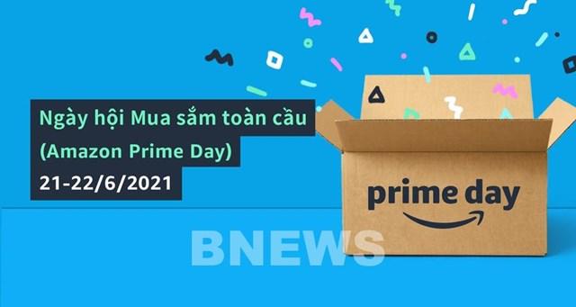 Ngày hội mua sắm toàn cầu - Amazon Prime Day sẽ diễn ra từ 21-22/6