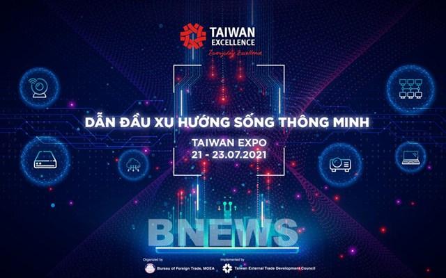 Nhiều công nghệ mới được giới thiệu tại triển lãm Taiwan Expo Việt Nam 2021