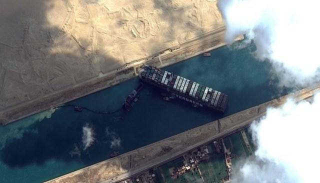 Ai Cập: Bất chấp sự cố siêu tàu Ever Given mắc cạn, kênh đào Suez đạt doanh thu kỷ lục 5,84 tỷ USD