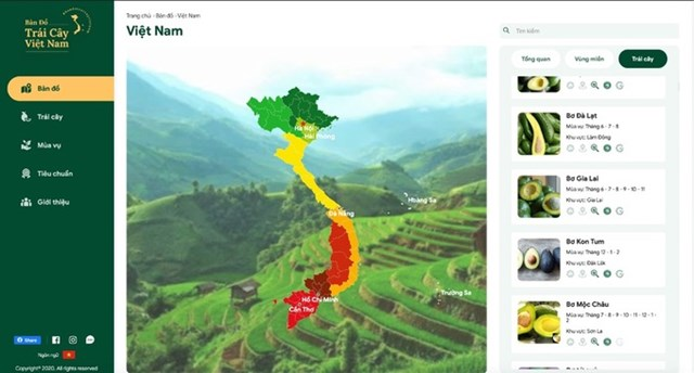Việt Nam mang bản đồ trái cây dự hội chợ lớn nhất châu Âu