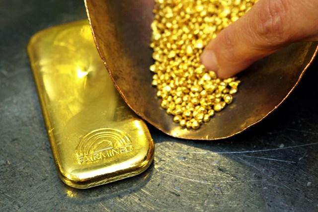 Giá vàng thế giới tuần qua giảm nhẹ