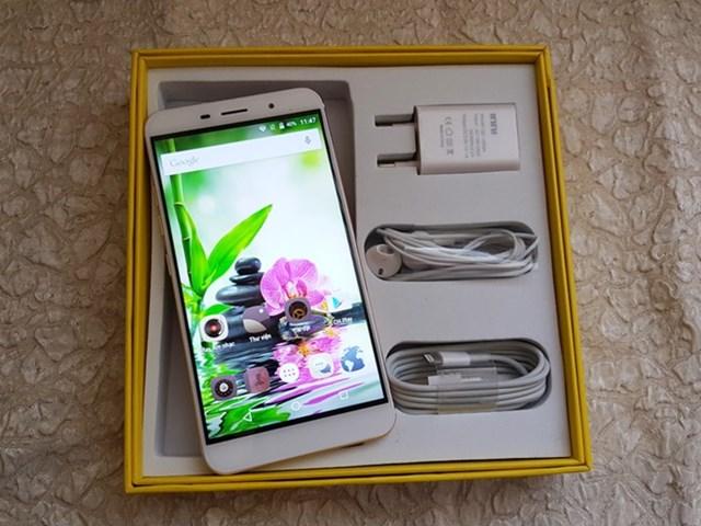 Inni 2: Smartphone cảm ứng vân tay giá rẻ cho người dùng trẻ