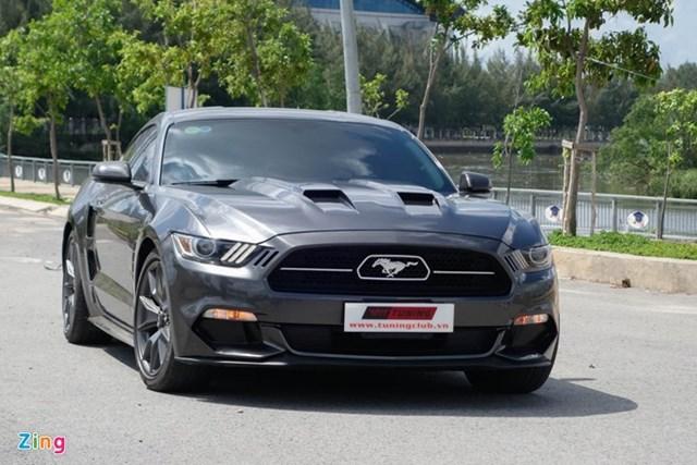Ford Mustang độ kiểu Lamborghini hết 250 triệu đồng