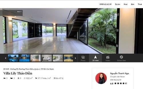 Startup Việt ra mắt hệ thống giao dịch bất động sản 3D
