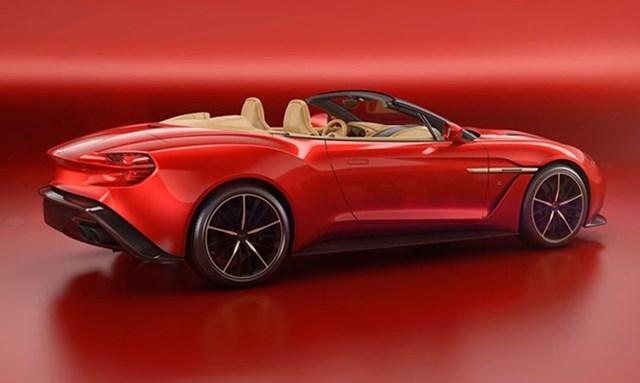 Aston Martin ra mắt siêu xe Vanquish Zagato Volante