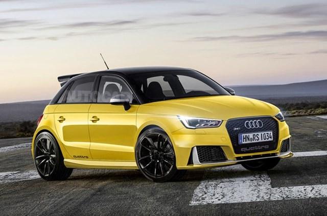 Audi RS1 muốn 'đè bẹp' MINI Cooper