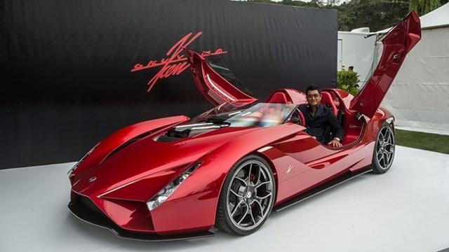 Ý tưởng siêu xe 2,5 triệu USD với cửa mở ngược độc đáo