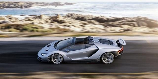 Ảnh Lamborghini Centenario Roadster 2,3 triệu USD vừa ra mắt